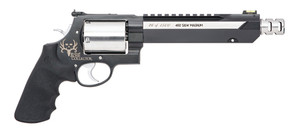 S&W Model 460XVR Bone Collector .460S&W 7.5 Inch Barrel Two-Tone Finish Muzzle Brake Black Synthetic Grip 5 Round