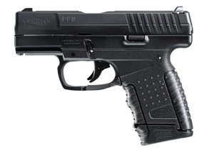 WAU Model PPS .40 S&W 3.2 Inch Barrel Black Finish Picatinny Rail comes with 2 magazines
