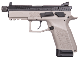 CZ 01288 P-07 Gray 9mm Luger Single/Double 4.50 10+1 Gray Polymer Grip/Frame Grip Gray Slide