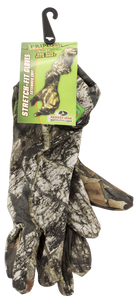 Primos 6395 Stretch Fit Gloves Mesh One Size Fits Most Mossy Oak New Break-Up