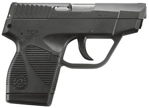 TAU Model 738FS TCS .380 ACP 3.3 Inch Barrel Double Action Only Blue Finish Polymer Frame 6 Round