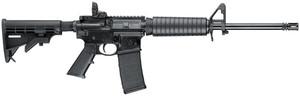 "Smith & Wesson 10202 M&P15 Sport II 223 Rem,5.56x45mm NATO 16"" 30+1 Black 6 Position Stock"