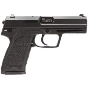 """HK 709007LEA5 USP9 Standard V7 3Mags DA/SA 9mm 4.3"""" 15+1 Syn Grip Blk"""