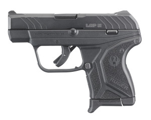 RUGER LCP II .380ACP 6-SHOT FS BLUED BLACK SYNTHETIC