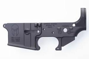 Spikes STLS021 Stripped Lower Spartan AR15 Multi-Caliber Black