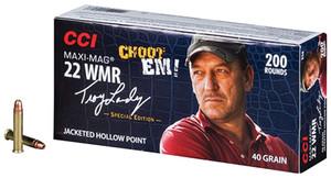 CCI Troy Landry Signature Series Mini-Mag .22 WMR 40 Grain Jacketed Hollow Point 200 Per Box