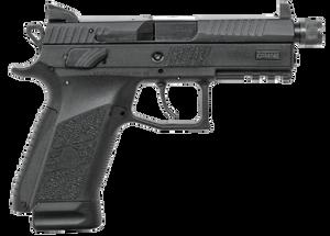 CZ 91289 P-07 Suppressor Ready 9mm Luger Single/Double 4.30 17+1 Black Interchangeable Backstrap Grip Black Nitride Slide
