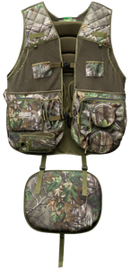 Primos 65714 Gobbler Hunting Vest X-Large/XX-Large Realtree Xtra Green