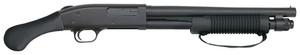 MOS Model 590 Shockwave 12 Gauge 3 Inch Chamber 14 Inch Heavy Walled Barrel Shockwave Raptor Pistol Grip Front Bead Sight Matte Blue Finish 6 Round Model 590 Shockwave