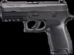 Sig Sauer 320C9BSS P320 Compact DAO Striker 9mm 3.9 15+1 NS Poly Grip/Frm Blk*