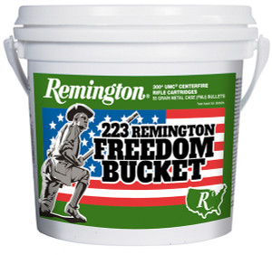 Remington .223 Rem. FMJ 300 Round Freedom Bucket – 55 Grain