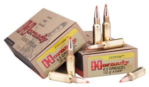 Hornady 8152 Custom 6.5mm Grendel 123 GR SST 1 case-200 rds-FREE SHIPPING