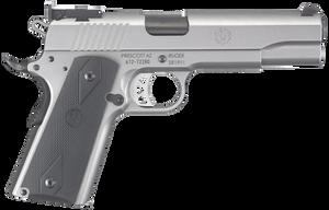 Ruger 6739 SR1911 Single 10mm 5 8+1 Black Rubber Grip Stainless*