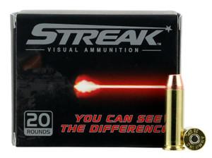 Ammo Inc 38125TMCSTRK Streak  38 Special 125 GR Total Metal Jacket (TMJ) 20 Bx/ 10 Cs