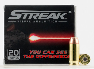 Ammo Inc 45230JHPSTRK Streak  45 ACP 230 GR Jacketed Hollow Point (JHP) 20 Bx/ 10 Cs
