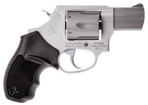 Taurus 2856029UL 856 Ultra-Lite 38 Special 6 Round 2 Stainless Steel Black Rubber Grip
