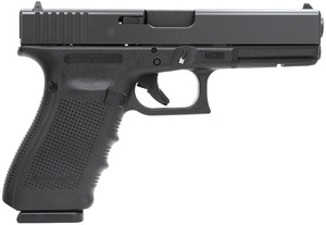 Glock PG2050203 G20 Gen 4 Double 10mm 4.6 15+1 Black Interchangeable Backstrap  Grip Black*