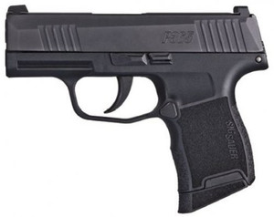 "Sig Sauer 3659BXR3 P365 9mm Luger 3.10"" 10+1 Black Nitron Black Polymer Grip"