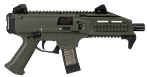 CZ Scorpion EVO 3 S1 9mm 20+1 OD Green Threaded, 806703913551, 91355
