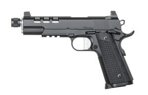 Dan Wesson Discretion Black .45ACP 5.75-inch 8Rd Threaded Barrel , 806703018850, CZ01885