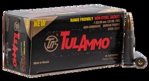 Tulammo UL076215 Centerfire Rifle 7.62x39mm 122 GR Full Metal Jacket 40 Bx/ 25 Cs