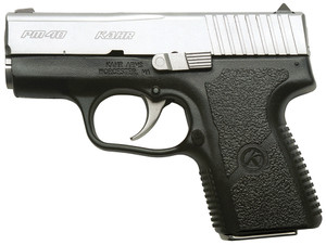 .Kahr Arms PM4043 PM40 Std DAO 40S&W 3.1 5+1/6+1 Poly Grip Blk Poly Frame/SS Slide