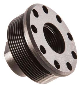 SilencerCo AC2629 Alpha Direct Thread Mount M13x.75 tpi Steel Black