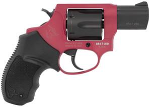 Taurus 2856021ULC10 856 Ultra-Lite 38 Special 6 Round 2 Black/Rouge Black Rubber Grip