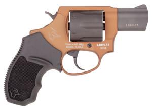 Taurus 2856021ULC12 856 Ultra-Lite 38 Special 6 Round 2 Matte Black/Bronze Black Rubber Grip