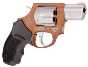 Taurus 2856029ULC12 856 Ultra-Lite 38 Special 6 Round 2 Matte Stainless/Bronze Black Rubber Grip