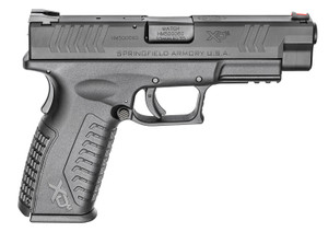 Springfield Armory XDM94510BHCE XD-M Full Size 10mm Auto Double 4.50 15+1 Black Interchangeable Backstrap Black Polymer Frame Black Melonite Slide