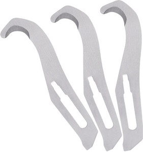 HAVALON KNIVES #GH GUT HOOK 3 PACK W/ TWO BLADE HOLDERS