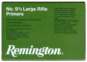 REM PRIMERS-LARGE RIFLE 5000-PK (5EA.-1000 PACK)