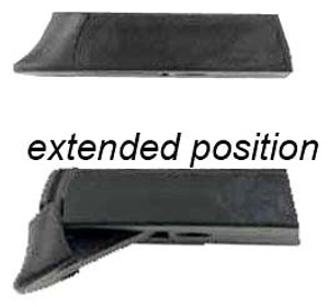 BERETTA SNAP GRIP PX4 SUB- COMPACT 9MM/.40 EXTENDED BLACK