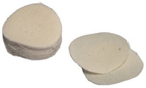 T/C PATCHES .45/.50 CALIBER UN-LUBRICATED 100-PACK