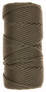 TAC SHIELD CORD TACTICAL 550 OD GREEN 50FT