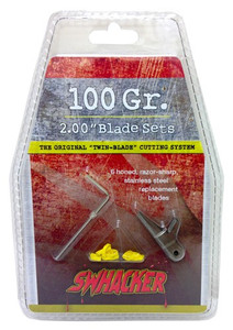 SWHACKER REPLACEMENT BLADES 2-BLADE 100GR 2 CUT 6/PK