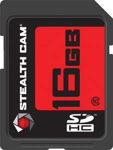 STEALTH CAM SDHC MEMORY CARD 16GB SUPER SPEED CLASS 10