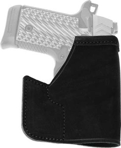 GALCO POCKET PROTECTOR HOLSTER RH LEATHER RUGER LCP BLACK