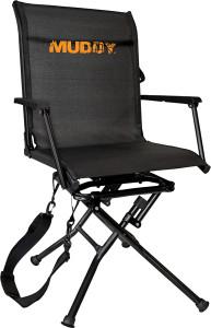 MUDDY SWIVEL-EASE FOLDING GROUND SEAT W/FLEX TEK SEAT!