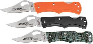 IMPERIAL KNIFE 3-PACK LOCKBACK 2.3 BLADE ORANGE/BLACK/CAMO
