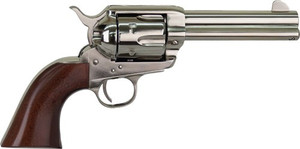 CIMARRON PISTOLERO .22LR FS 4.75 10-SHOT NICKEL WALNUT 8153