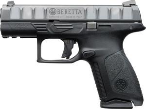BERETTA APX CENTURION 9MM 3.7 FS 10-SHOT BLACK POLYMER 6180