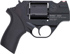CHIAPPA RHINO 200DS .357MAG 2 FS CHROME/RUBBER W/HOLSTER 2841