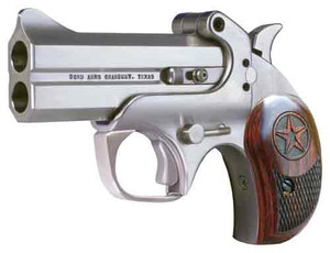 BOND ARMS CENTURY 2000 .357 3.5 FS STAINLESS WOOD