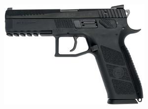 CZ PO9 9MM LUGER FS 19-SHOT POLYMER FRAME BLACK 7304