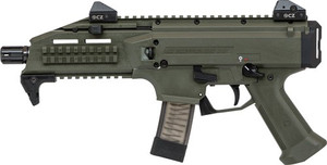 CZ SCORPION EVO 3 S1 9MM FS 20-SHOT OD GREEN 3358
