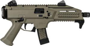 CZ SCORPION EVO 3 S1 9MM FS 1/2X28 THREADS 20-SHOT FDE 11