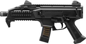 CZ SCORPION EVO 3 S1 9MM FS 1/2X28 THREADS 20-SHOT BLACK 8930