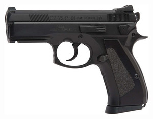 CZ P-01 9MM FS 14-SHOT BLACK POLYCOTE FINISH 77